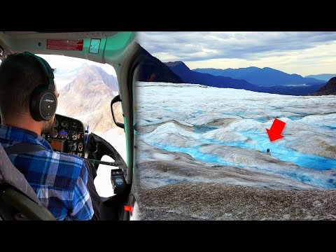 TAKING A HELICOPTER TO A GLACIER | Alaska Cruise Day 3