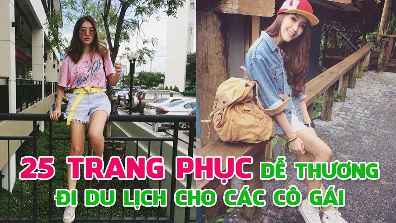25 Trang phục dễ thương đi du lịch cho các cô gái! | Blog HCĐ ✔