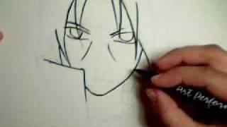 Drawing Itachi