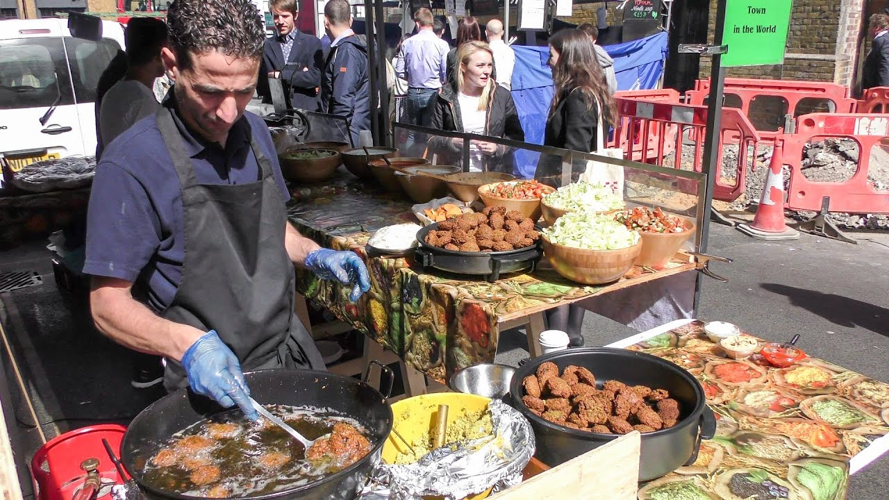 KING of FALAFEL. Street Food from the Middle East in ...