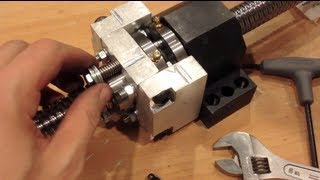 THUNDERDORK: DIY CNC Router -- Anti-Backlash Housing for Rolled Ballscrew
