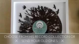 Vinyl Record Art - Stunning Framed Gifts