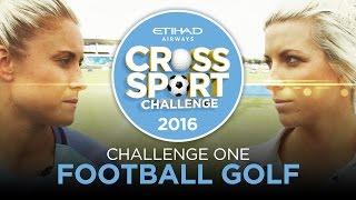 FOOTBALL GOLF! Man City Women vs Ladies European Tour!