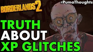 The TRUTH about Borderlands 2 XP and Level Up Glitches 2019 (Sanctuary Dummy Glitch) #PumaThoughts