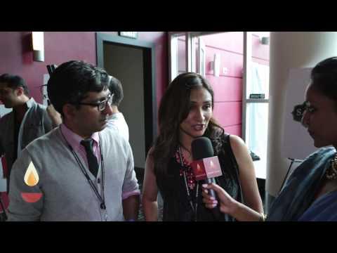 12th Annual Closing Gala IFFLA ~ Interview filmmakers and actors Meera Simhan & Ravi Kapoor