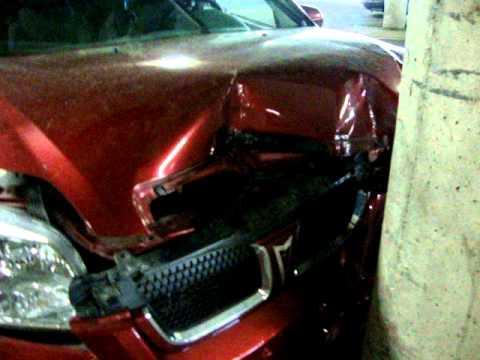 Chevrolet Aveo 2009 Crash Test Youtube