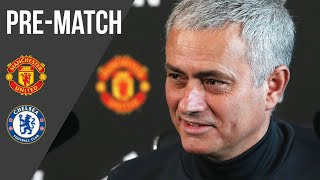 The Manager's Press Conference: Manchester United v Chelsea