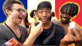 FRENCH PEOPLE REACT TO MAGIC!  ( JULIUS DEIN VLOGS)