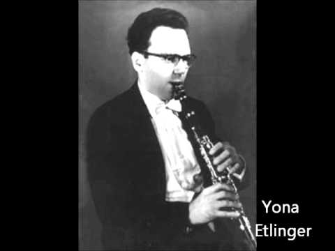 Brahms clarinet sonata in f minor op 120-1 - Pnina Salzman Yona Etlinger Uzi Vizel