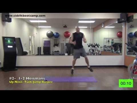 SickFit: Fit In 15 Pure Cardio #1 10 Minute Bootcamp