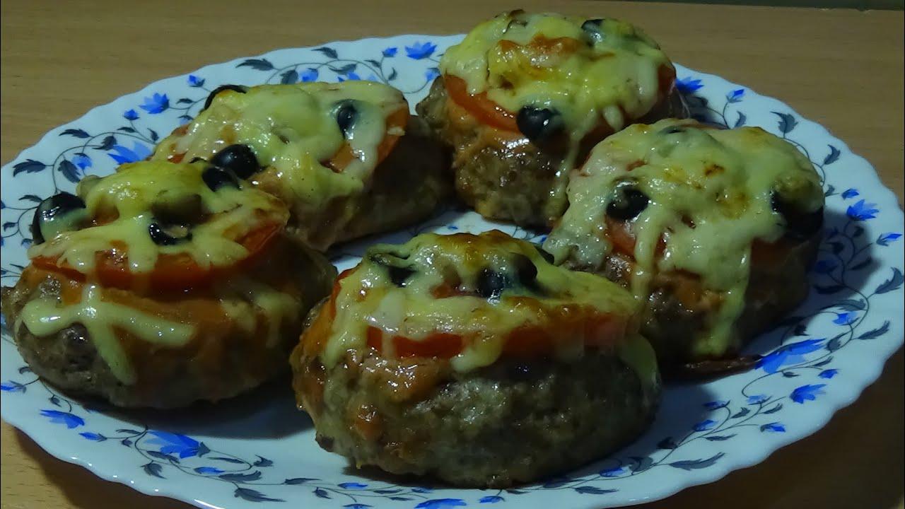 котлеты с сыром внутри рецепт в духовке