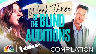 The Best Performances from the Third Week of the Blind Auditions - The Voice 2021