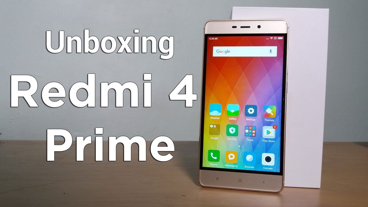 pretty nice 3fd09 56327 Unboxing Xiaomi Redmi 4 Prime Indonesia