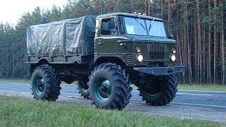 видео Тюнинг ГАЗ 66. Легендарный советский грузовик