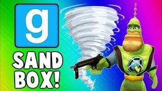 getlinkyoutube.com-Gmod Sandbox Funny Moments TORNADO Edition - House Destruction & Skit Fails (Garry's Mod)