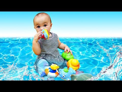 Животные для малышей - Паровозик из игрушек. Развивающие Дада игрушки