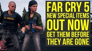 Far Cry 5 DLC - New Special Items & New Shovel Launcher OUT NOW (Far Cry 5 Live Event)