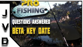 PRO FISHING Game Beta Update! | Questions Answered | Free Games for PC 2018