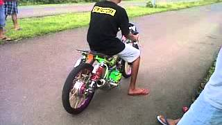 Nyetting Vega drag bike 200 cc BPM Factory , bima NTB