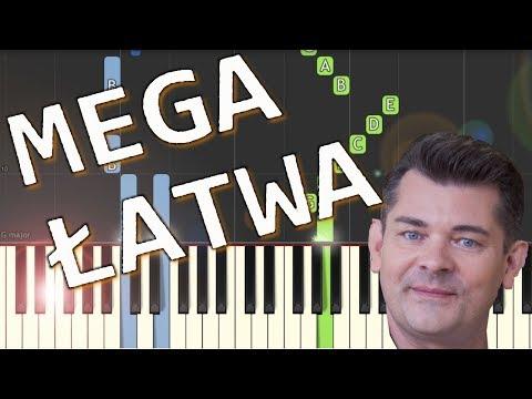 🎹 Przez twe oczy zielone (Akcent) - Piano Tutorial (MEGA ŁATWA wersja) 🎹