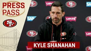 Kyle Shanahan Recaps Seahawks Rivalry & George Kittle's Performance | San Francisco 49ers