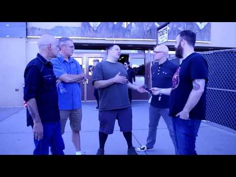 DESCENDENTS interview - RIOT FEST DENVER- Practicing Might save your life & Hypercaffium Spazzinate!