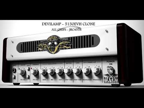 Architects - Devil's Island Cover (DEVILAMP - 5150EVH CLONE)