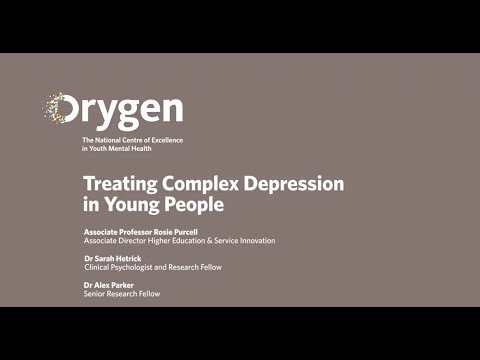 Treating Complex Depression in Young People (July 2015)
