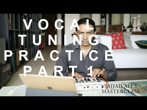 HOW TO SING - Basic Vocal Training Part 1 | Sajjad Ali's Master Class Online