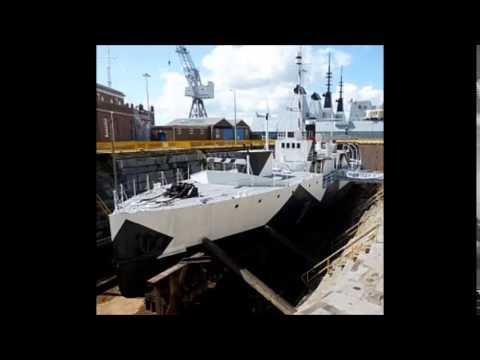 Royal Navy museum ships