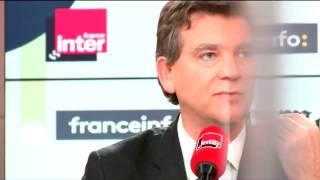 Arnaud Montebourg invité de Questions politiques