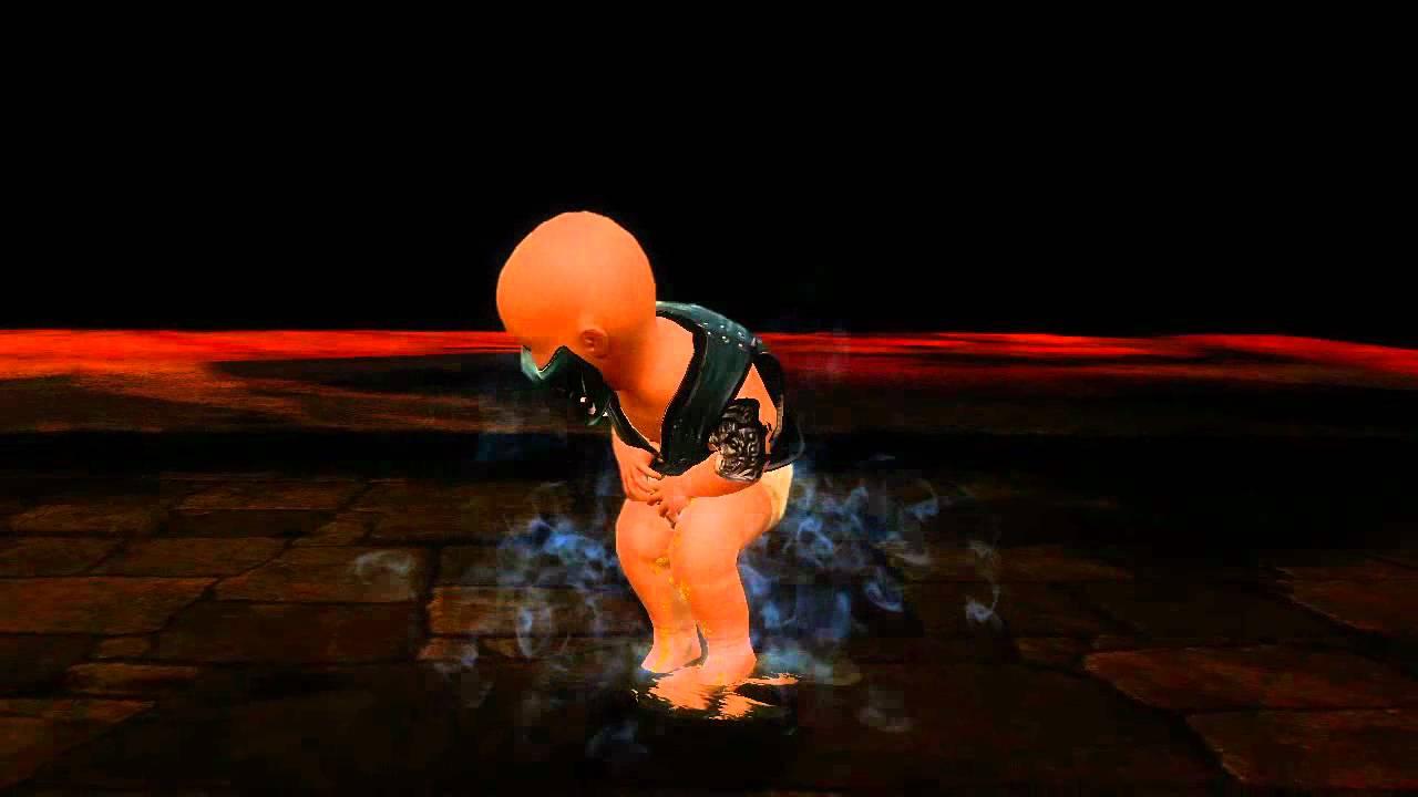 Mortal Kombat 9 Sindel asesina a todos los Kombatientes