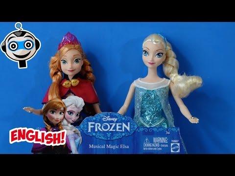 Disney Frozen Musical Magic Elsa & Anna Dolls