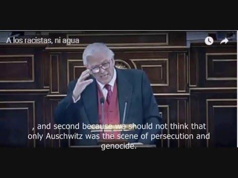 Juan de Dios Ramírez Heredia Holocaust Speech - Spanish Senate 2016
