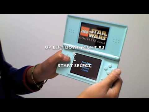 lego starwars complete saga cheats for ds dsi youtube