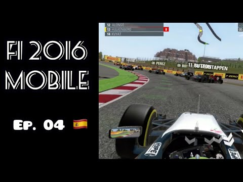 F1 2016 Mobile Career Mode Ep 04: SURPRISE RESULTS!!