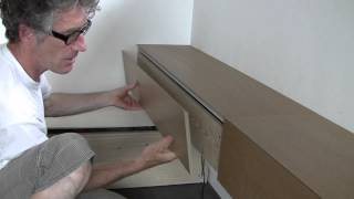 Making Wall Mounted Drawers