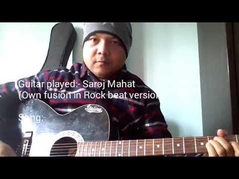 Parelima (1974 AD) Guitar cover by Saroj Mahat / Rock Beat version ...