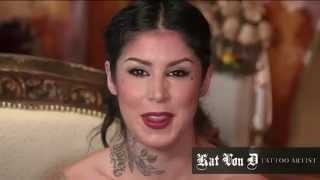 Kat Von D Shows You How to Contour an Oval Face Shape Using Everlasting Bronzer and Blush Thumbnail