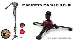 Despachetare si prezentare monopied Manfrotto MVMXPRO500