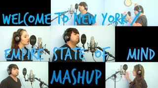 mashup welcome to new york taylor swift empire state of mind jay z mashup