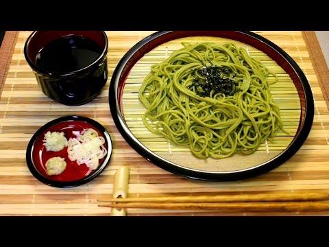 How to make ZARU SOBA(Green Tea) / Soba tsuyu (dipping) 簡単で美味しい蕎麦つゆ