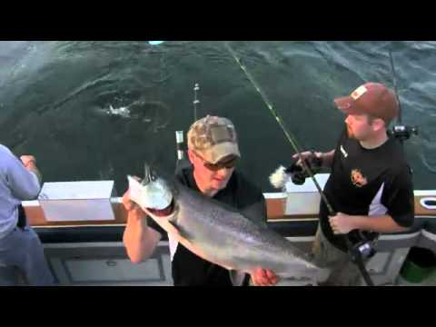 Lake Michigan Charter Manistee | Call 231-398-0619 Reel Teaser II Sport Fishing Charters
