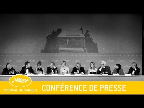 JURY - Conférence de Presse - VF - Cannes 2016