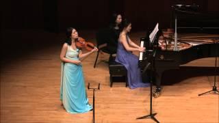 R. Strauss : Violin Sonata in E flat major op. 18 (III. Finale: Andante. Allegro)