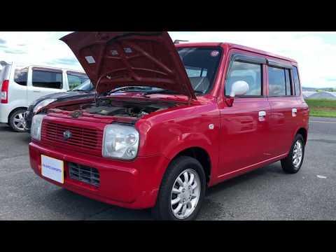KS AUTO EXPORTS 2004 Suzuki Alto Lapin Red 2800