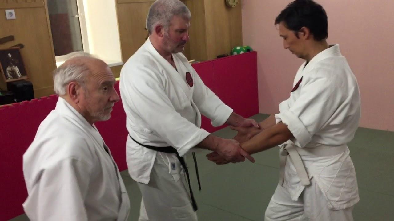 Goldberg Sensei teaches Aiki Age to new Moscow Study Group