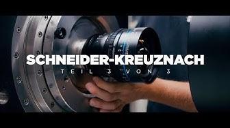 So aufwendig ist die Produktion von CINE-OBJEKTIVEN! - Schneider-Kreuznach Teil 3/3
