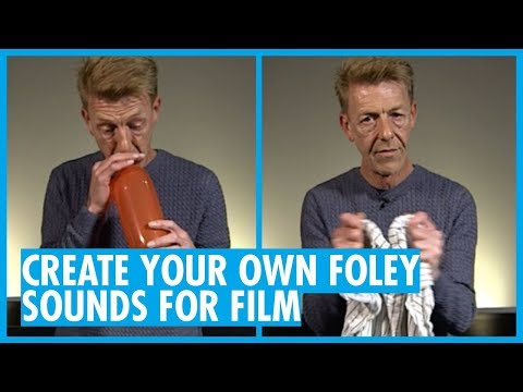 How To Make Your Own Foley Sound Effects with Peter Burgis (Interactive On Web Browser Only)