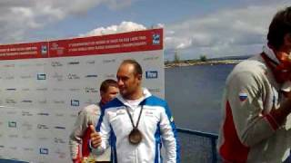 Swimming - Men's 10km Medal Ceremony - 6th FINA World Open Water Swimming Championships 2010